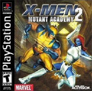 Screenshot Thumbnail / Media File 1 for X-Men - Mutant Academy 2 [U]
